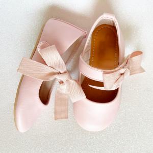 Zapato princesa rosa bebés