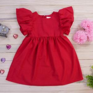 Vestido rojo primavera