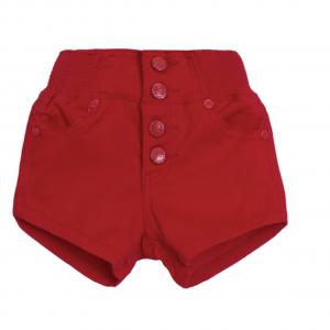 shorts cintura rojos