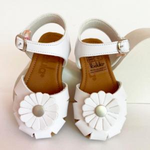 sandalia blanca niñas