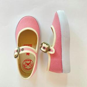 Zapato tenis rosa vintage