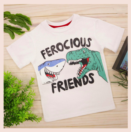 tiburon y t-Rex